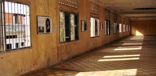 The school turned torture centre for the Khmer Rouge, S21