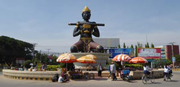 Relaxed city, plenty to entertain you, rural tours, bamboo train, circus...