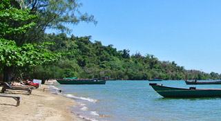 Quiet rustic beach island to unwind just off Kep coast
