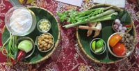 Learn to cook some classic Thai dishes on the beach with a great friendly teacher