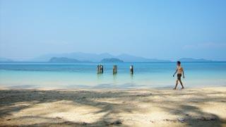 A tiny Robinson Crusoe paradise island, a jewel of Thailand