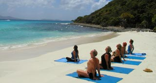 This spiritual island has attracted some impressive yoga retreats