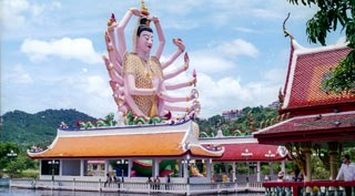 An 18 armed Guanyin & a 30 metre fat Chinese Buddha, what more do you want?