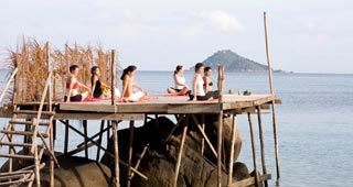 Fine yoga centres, retreats and resorts are scattered across the island
