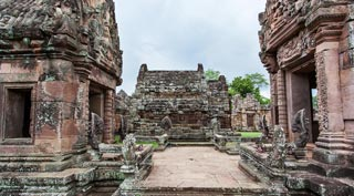 A spectacular set of Khmer ruins in a remote part of Thailand well worth the trip