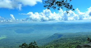 Set atop a mountain plateau is a park rich in tropical forests, waterfalls & unbelievable views