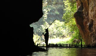 Thailand's premier and spectacular cave complex, one of the finest in SE Asia