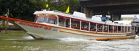 Good way to get around Bangkok and see the big historic sights