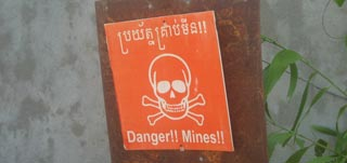 Touching insight to how landmines affect Cambodia