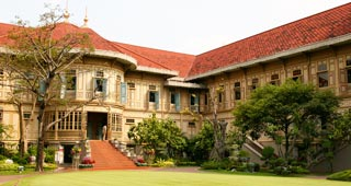 A complex of Rama V's European style palaces open as museums