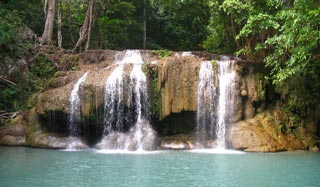 Erawan National Park & Waterfalls