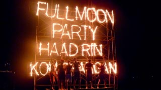 Ko Phangan's Full Moon Parties are infamous. The wildest beach parties in South East Asia!