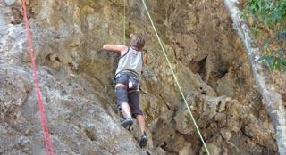 Climbing and Bouldering Ko Tao