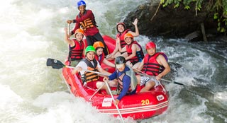 A white water rapids scenic adventure, from Pai to Mae Hong Song